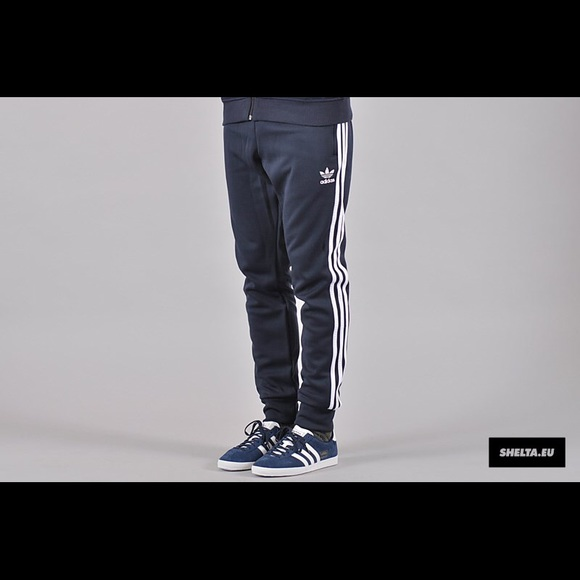 adidas Other - SUPERSTAR CUFFED NAVY TRACK PANTS AJ6961 SM,SR,K3